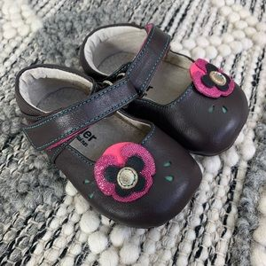 SEE KAI RUN FLORAL MARY JANE SIZE 6-9Months
